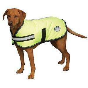 Weatherbeeta Reflective HiVis Parka 300D Dernier Dog Coat Showerproof Breathable