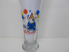 Budweiser Bud Light Spuds MacKenzie Pilsner Glass 1987