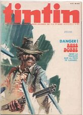 TINTIN  42  COMIC MAGAZINE  C. 1973  FRENCH  BELGIUM