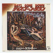 """Gerry Rafferty - Days Gone Down c/w Why Won't You Talk To Me? 7"""" JAPAN 45"""