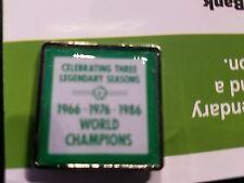 "Boston Celtics Commemorative Pin ""Three  Legendary Seasons "" Giveaway 4-13-16"