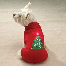 Twinkling Star Holiday Dog Sweater