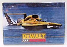 1997 DEWALT RACING  hydroplane race boat pinback button z