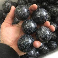 4.4 lb Indigo Gabbro Mystic Merlinite Gemstone sphere ball sample Wholesale