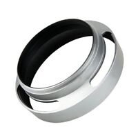 39mm Aluminium Silver Lens Oblique Cover Internal thread Hood For Leica Slr