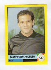 figurina IL GRANDE CALCIO VALLARDI 1992 NUMERO 517 PISA SPAGNULO