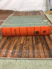 Acorn Products vintage file letter invoices c953 dust proof green orange 15 x 11