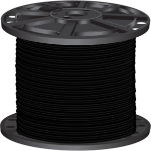 Southwire SIMpull THHN Wire 500 ft. 4-Gauge Stranded Copper Black