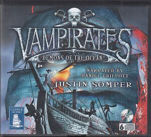 Justin Somper Vampirates Demons Of The Ocean 6CD Audio Book Unabridged