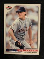 1996 Score Baseball #204 Brian Anderson California Angels