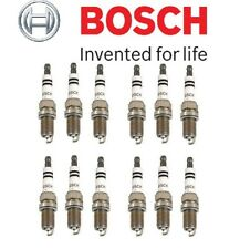 For Mercedes-Benz Platinum Super Plus Spark Plugs BOSCH OEM Germany SET OF 12