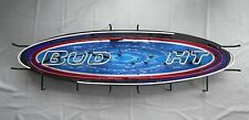 """Replacement Neon Tube For Bud Light Beer """"Surfboard"""" Sign - Red Border Tube"""