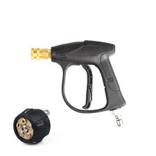 High Pressure Water Washer Gun 3000 PSI w/ 5 in1 Change Over Spray Nozzle Kit