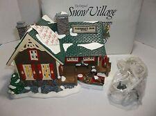 Vintage Dept 56 Snow Village Fishermans Nook Resort 1994 Lighted 54607