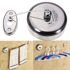 304 Stainless Steel 2.5 M  Retractable HOME Hotel Indoor Clothesline Holiday NEW