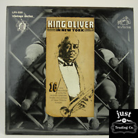 King Oliver And His Orchestra* – King Oliver In New York 1966 lp LPV-529  EX/EX