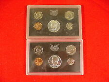 Lot Of 2 1970 US Proof Sets Mint Sealed Deep Cameo No Cardboard