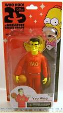 YAO MING THE SIMPSONS 25 OF THE GREATEST GUEST STARS ACTION FIGURE 2014 SERIES 1