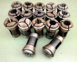 17 Druckspannzangen Ø 8-21 mm Druckspannzange Spannzange wie 162E Werkzeughalter
