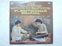 SHIVKUMAR SHARMA USTAD ZAKIR HUSSIN  SANTOOR 1977 LP CLASSICAL EX