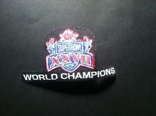Super Bowl XXVII Patch Troy Aikman, Emmit Smith, Irvin,Dallas Cowboys Champions!