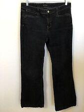 White House Black Market Women's Black  Stretch Denim Jeans/Pants SZ 10S  BLANC