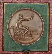1895 Winterthur Switzerland Swiss Shooting Medal R1756B in Original Case