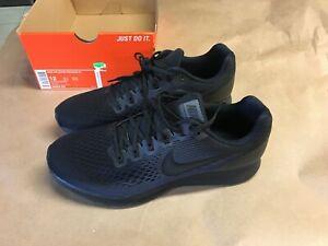Nike Air Zoom Pegasus 34 Mens Running Training Shoes Size 12 880555-003 Black