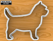 Cairn Terrier Dog Cookie Cutter, Selectable sizes