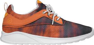 Globe Baskets Chaussure Basse à Lacets Coureur Roam Lyte Orange Maille Lycra