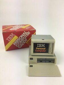 Vintage 1983 IBM PC 5150 Plastic Advertising Promotional Desk Caddy Clip Holder