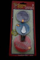 90 mixed sizes hand sewing needles thimble needle threader repair kit travel