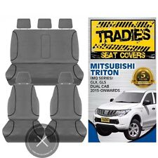Seat Covers mitsubishi triton 2015 Onwards