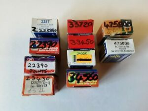 Ignition Parts job lot of 10 new old stock Classic on All Early Rover,BMC models