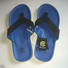 1f6939b87b3 C9 Champion Men s Size 7 8 Blue And Black Cushion Lite Flip Flops