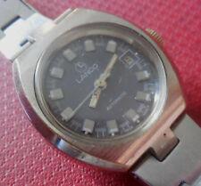 Vintage 1970s Boys LANCO AUTOMATIC 21 Jewels Swiss Made Running Wristwatch