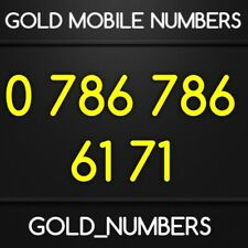 GOLD MOBILE 786 NUMBER MEMORABLE VIP EASY 786786 GOLDEN PHONE NUMBER 07867866171