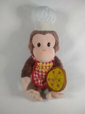 Curious George Pizza Pie Baker Stuffed Animal Plush Toy Find Vintage