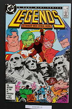 LEGENDS #3 DC First New SUICIDE SQUAD Blockbuster DARKSEID 1987 Movie NM- 9.2