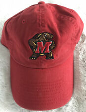 NCAA Maryland Terrapins One Fit Red Franchise Style Hat Cap Top Of The World