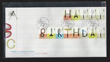 China Hong Kong 2005 FDC Happy Birthday Alphabet stamps