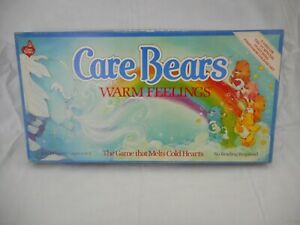 Vintage Care Bears Warm Feelings Parker Brothers Board Game 1984