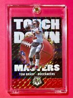 Tom Brady SILVER PRIZM MOSAIC TOUCHDOWN MASTERS SPECIAL INSERT TAMPA - Mint!
