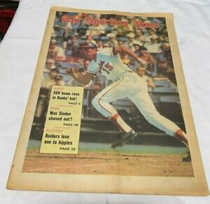 May 30, 1970 The Sporting News Newspaper---Orioles Davey Johnson   VG