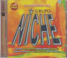 CD - La Historia Del Grupo Niche NEW 1 CD & 1 DVD Grandes Exitos FAST SHIPPING !