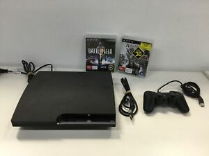 Sony Playstation 3 Console w/ Controller, Charging & HDMI Cable + 2 Games #454