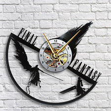 Final Fantasy 7 Sephiroth vs Cloud Vinyl Record wall clock