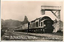 """The Flying Scotsman"" Diesel Locomotive British Railways RP Postcard"