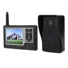 """Videocitofono Fotografa Kit Telecamera Senza Fili Campanello Monitor 3.5"""" LCD"""