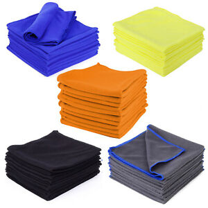 Microfibre Cloths Washable Cleaning Polishing Towel for Home Glass Floor 16 inch